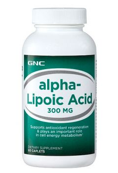 GNC ALPHA LIPOIC 300 mg
