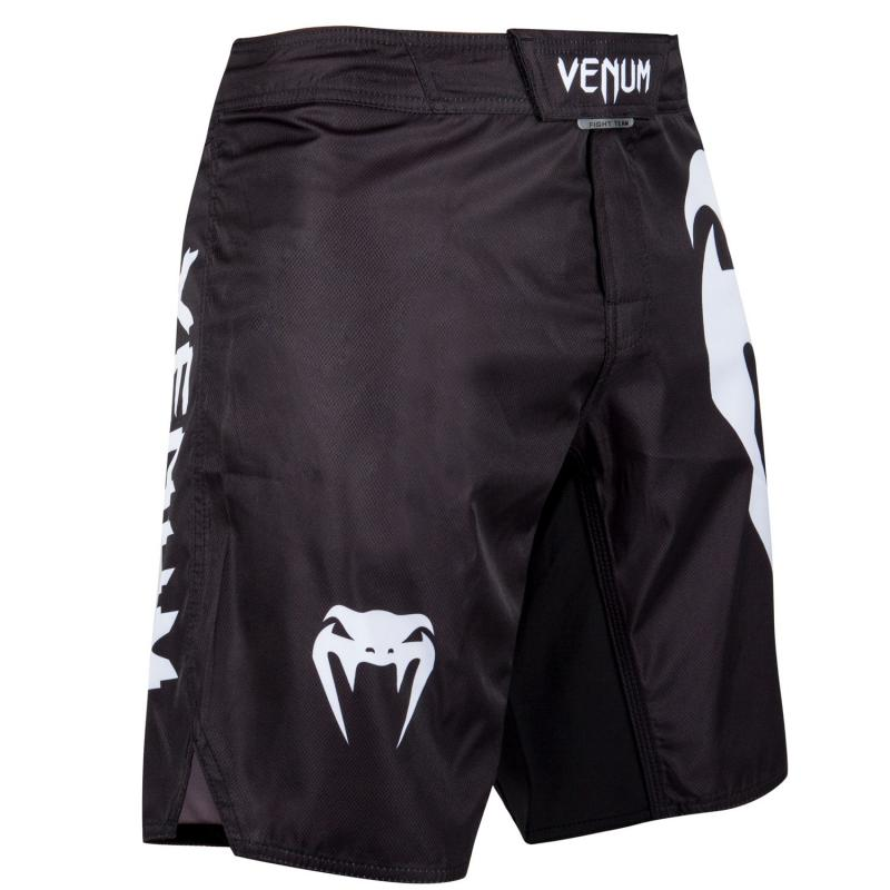 Venum Venum Light 3.0 fightshorts BLACK/WHITE 1