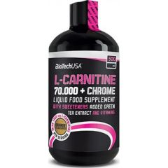 L-Carnitine 70.000 mg+Chrome