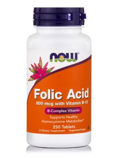 Folic Acid 800 mcg with Vitamin B-12