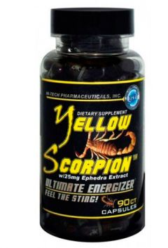 Hi-Tech Pharma Pharmaceuticals Yellow Scorpion