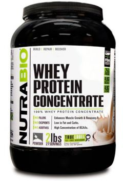 NutraBio Whey Protein Concentrate