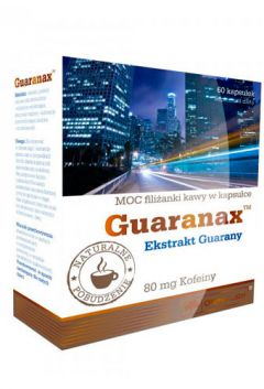 Olimp Guaranax 80 mg of caffeine