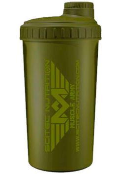 Scitec Nutrition Шейкер Muscule Army Green