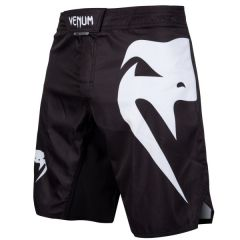 Venum Light 3.0 fightshorts BLACK/WHITE