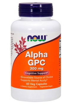 Alpha GPC 300 mg, 60 cap