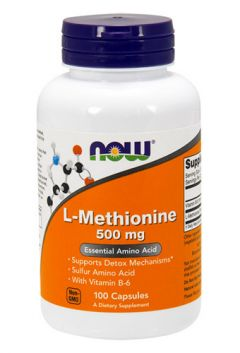 L-Methionine 500mg, 100 cap