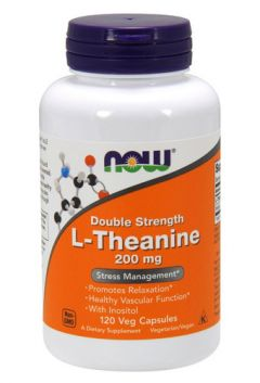 L-Theanine 200 mg, 120 cap