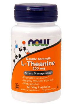 L-Theanine 200 mg, 60 cap