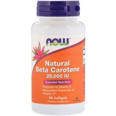 NOW Beta Carotene 25.000
