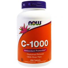 NOW C-1000 with 100 mg of bioflavonoids