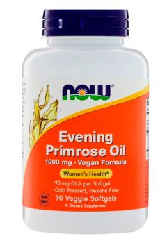 NOW Evening Primrose Oil , 90 veg softgels