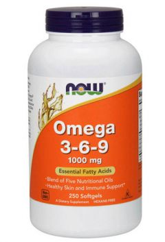 Omega 3-6-9, 250 softgels