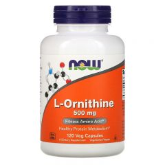 NOW L-Ornitine 500 mg