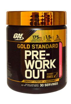 Gold Standart Pre Work Out