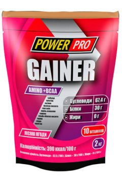 Power Pro Gainer 30% белка