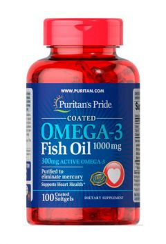 Puritan`s Pride Omega-3 Fish Oil 1000 mg