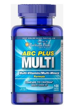 ABC Plus Senior Multivitamin Multi-Mineral Formula
