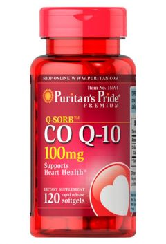 Puritan`s Pride CO Q-10 100 mg