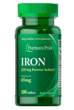 Puritan`s Pride Iron 65 mg