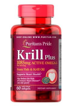 Krill Oil Plus High Omega 3 Concentrate 1085 mg