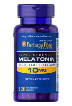 Puritan`s Pride Melatonin 10 mg 120 cap