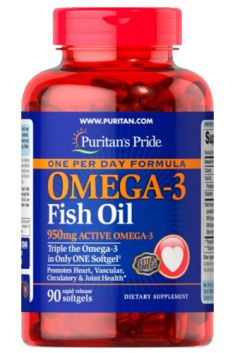 Omega-3 Fish Oil 1360 mg