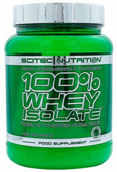 100 % Whey Isolate