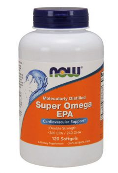 NOW Super Omega EPA, 120 softgels